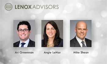 Lenox Advisors Appoints Three New Partners